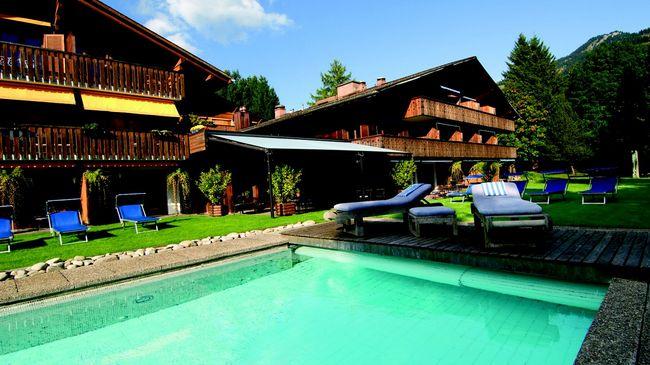 hotel alpine lodge saanen gstaad svizzera turismo