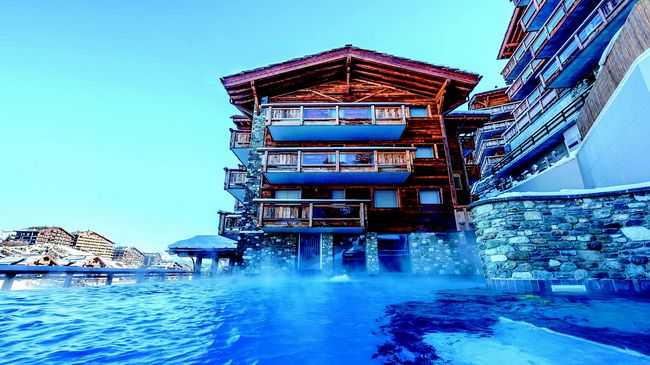 H tel nendaz 4 vall es spa haute nendaz suisse tourisme for Webcam haute nendaz